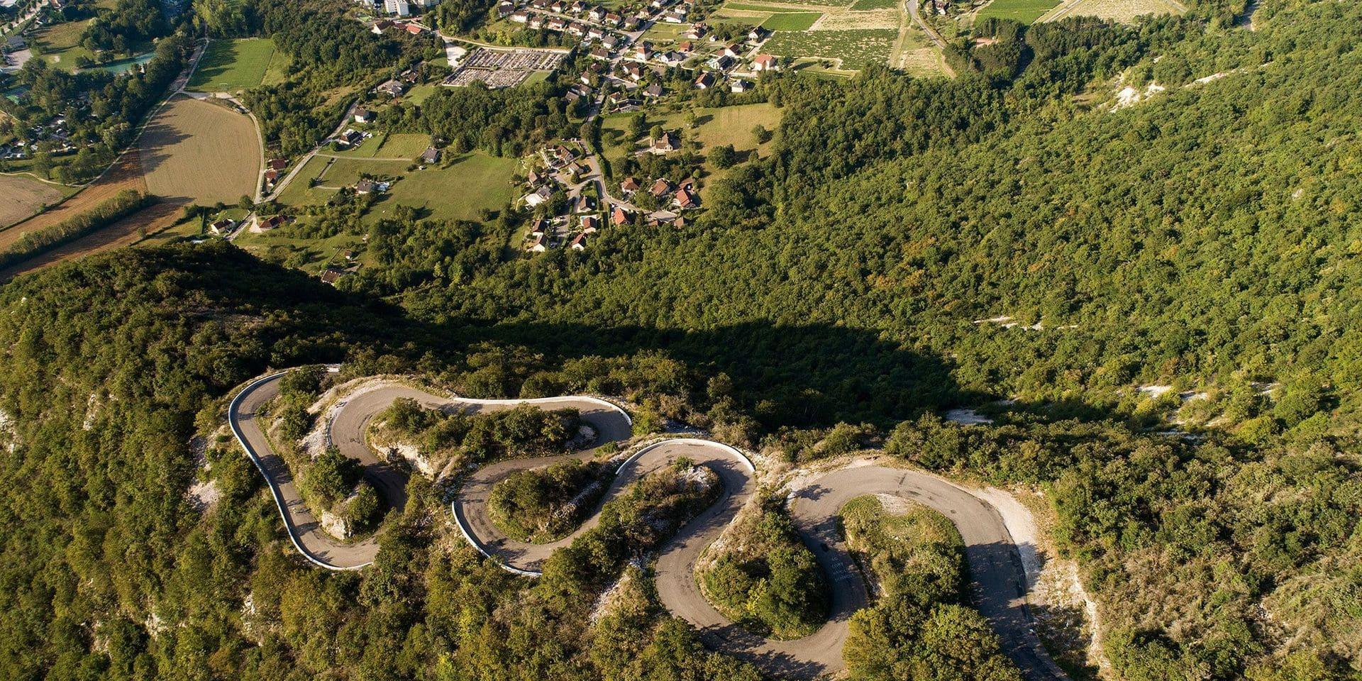 Le Grand Colombier, une épreuve de choix pour cette 15e étape du Tour de France