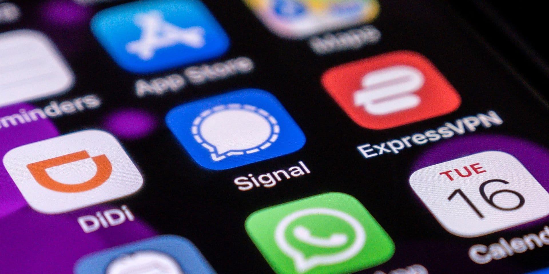 Pékin bloque l'accès à Signal, la nouvelle messagerie en vogue