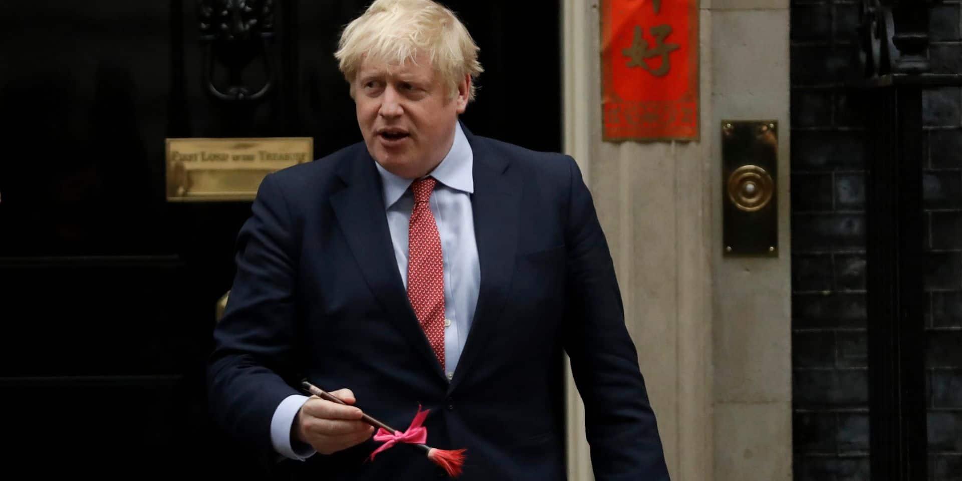 Historique: Boris Johnson a signé l'accord de Brexit