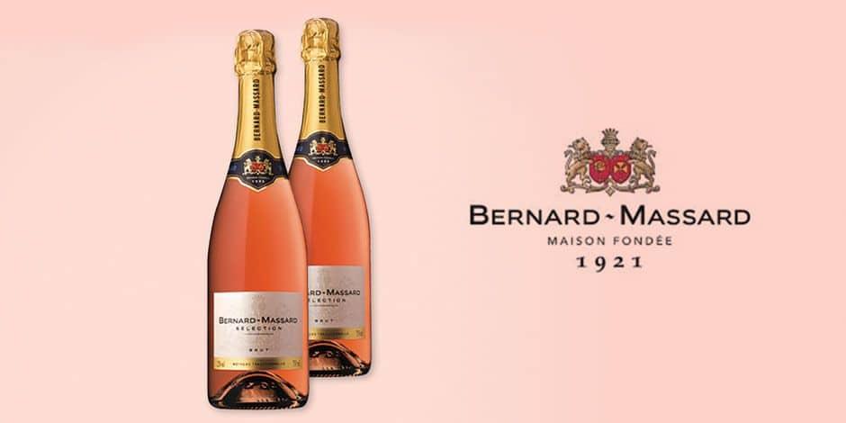 Concours : gagnez 2 bouteilles de Bernard-Massard rosé