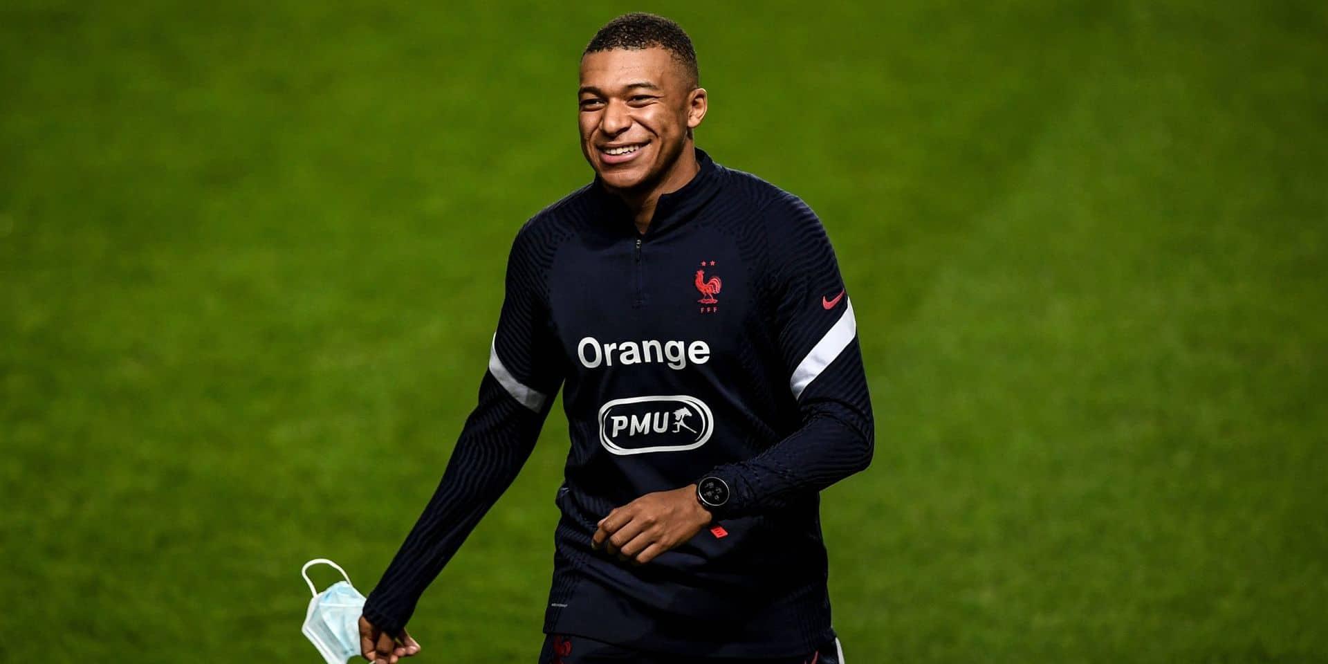 Kylian Mbappé absent pour le choc de Ligue des nations au Portugal