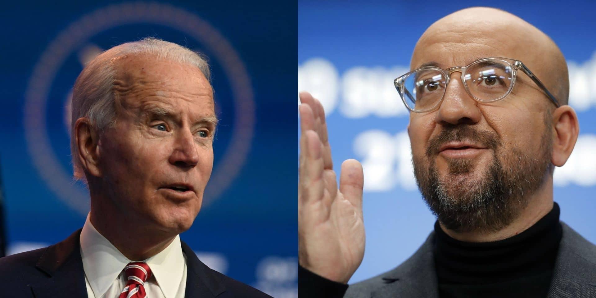 Charles Michel invite Joe Biden à Bruxelles pour un sommet extraordinaire de l'UE