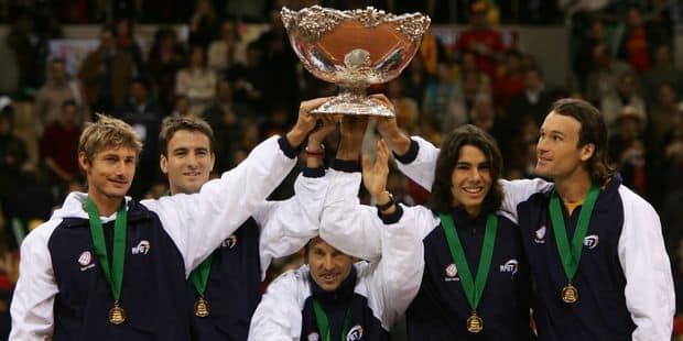 Madrid organisera la Coupe Davis pendant 2 ans - La Libre