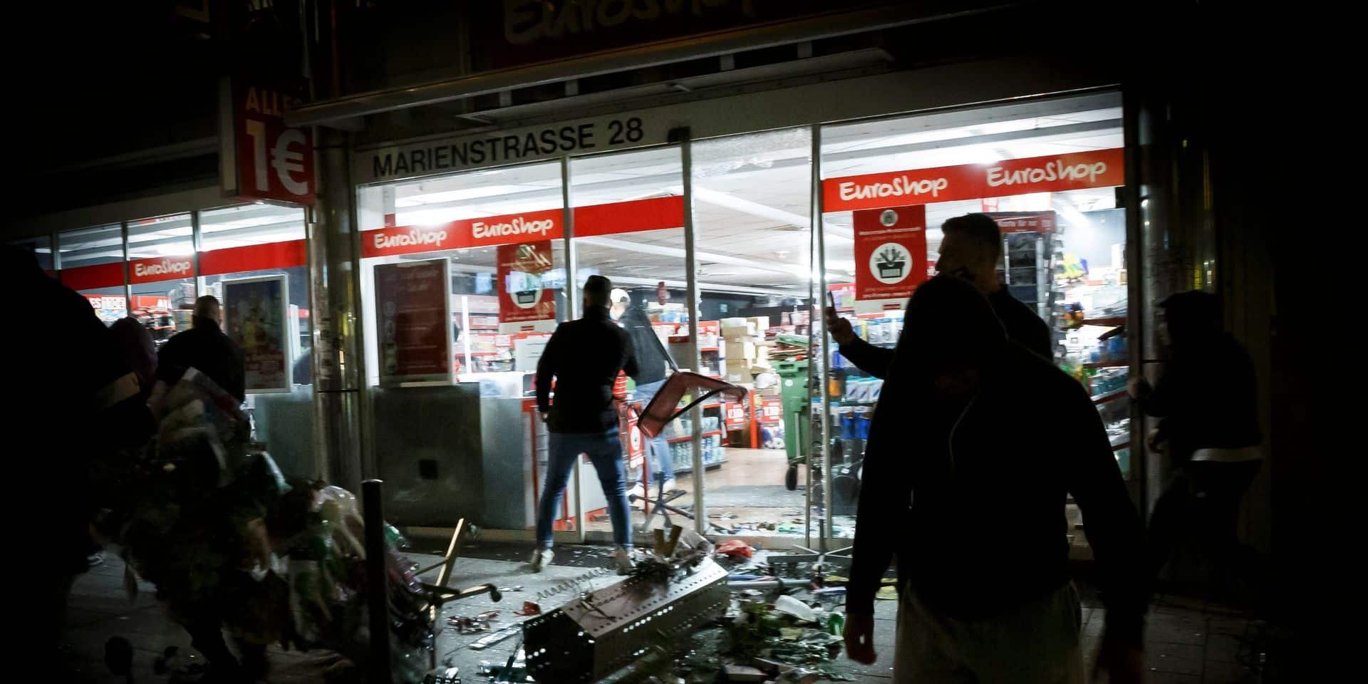Emoi en Allemagne après des scènes de violence sans précédent à Stuttgart