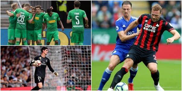 Belges à l'étranger: Depoitre à l'assist, Thorgan Hazard buteur, première clean sheet pour Courtois avec le Real (VIDEOS...