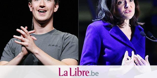 """(COMBO) This combination of file pictures created on March 30, 2018 shows(L)Facebook CEO Mark Zuckerberg delivering a keynote address during the Facebook f8 conference in San Francisco, California and (R) Chief Operating Officer of Facebook Sheryl Sandberg inaugurating the interactive Facebook exhibition """"Connexions"""" at start-up hub Station F in Paris on January 22, 2018. When it has comes to its handling of the scandal over how its data was used to elect US President Donald Trump, Facebook gets an almighty thumbs down from crisis management experts.Public relations specialists questioned by AFP were damning in their verdict of how the world's biggest social network has dealt with the fall-out of the revelations that Cambridge Analytica obtained users' personal information to try to manipulate US voters. / AFP PHOTO / GETTY IMAGES NORTH AMERICA AND AFP PHOTO / JUSTIN SULLIVAN AND JACQUES DEMARTHON"""