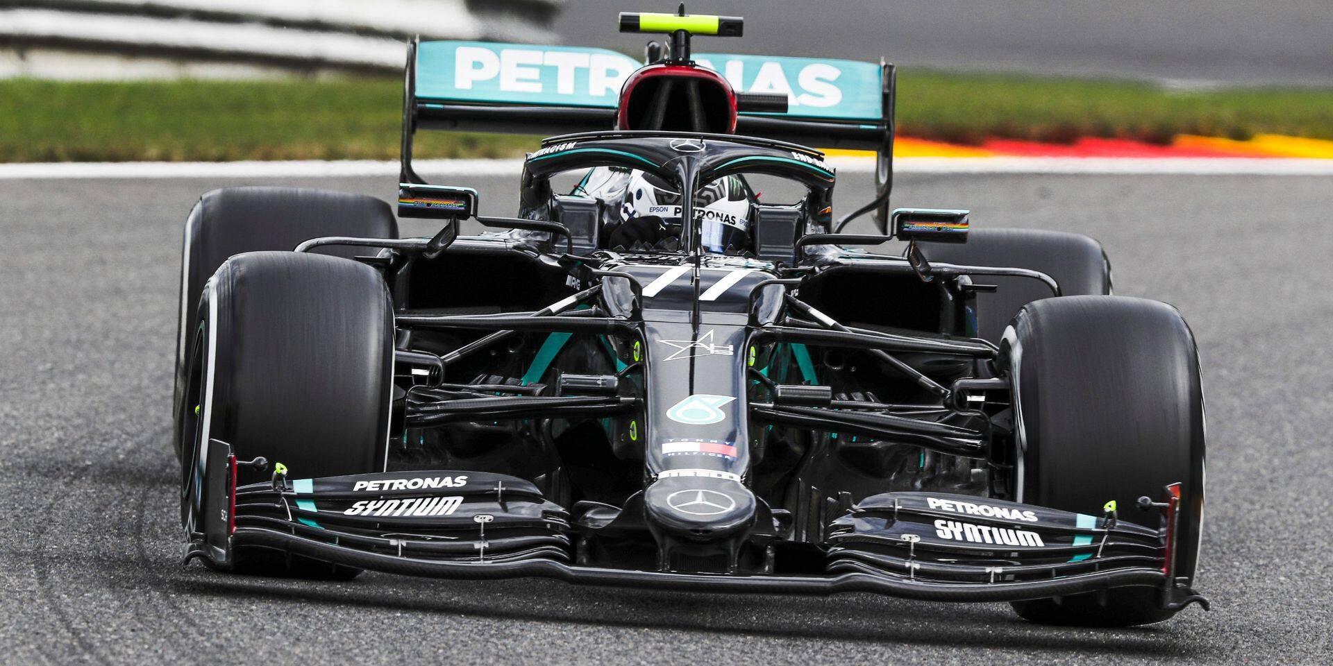 GP de Belgique (Libres 1): Bottas le plus rapide, les Ferrari à la rue