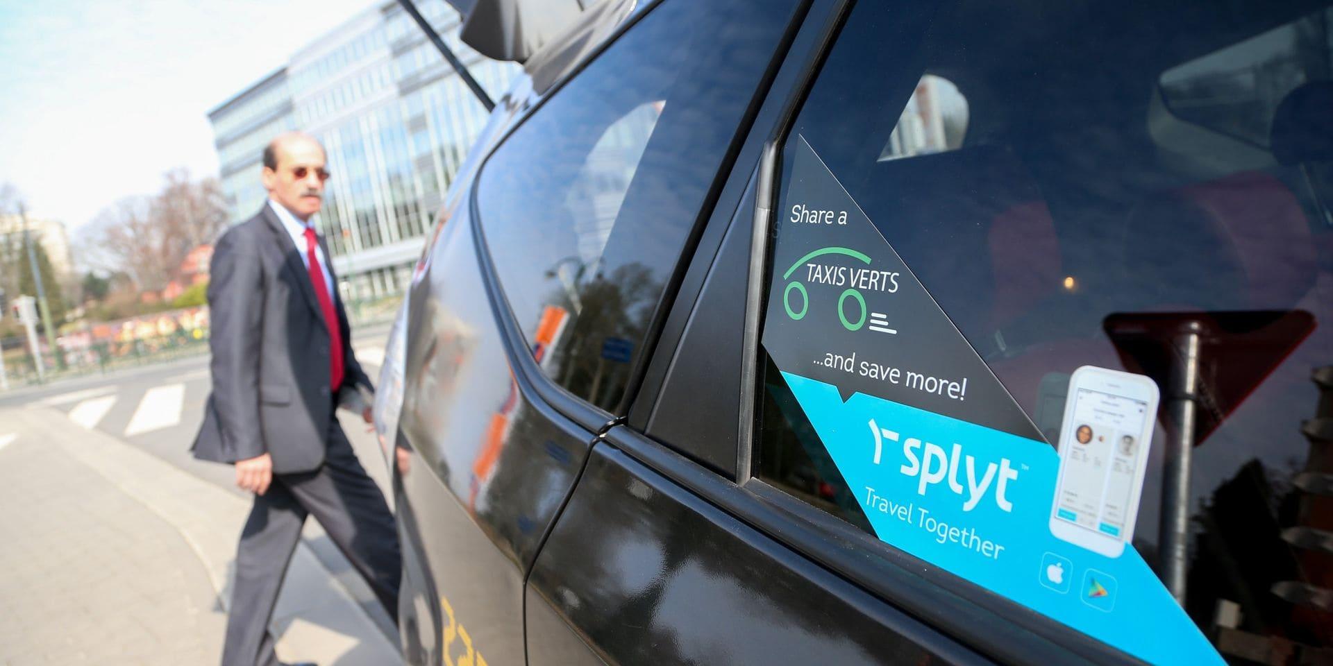 Des bons taxis de 10 euros pour se déplacer vers et depuis des bars et restaurants à Bruxelles