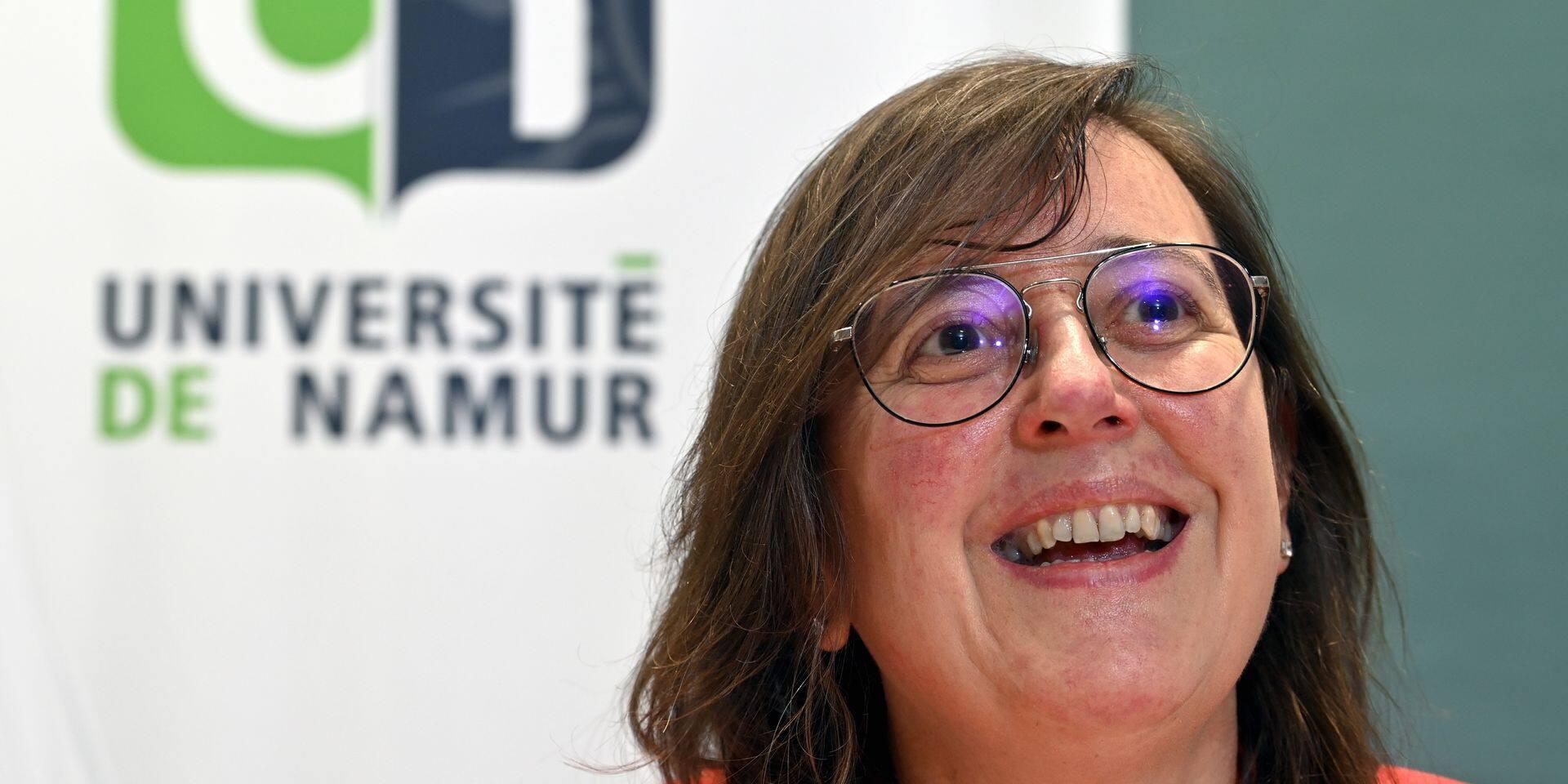 """Annick Castiaux, prochaine rectrice de l'UNamur : """"Mon élection peut être perçue comme un signal, le plafond de verre a sauté"""""""
