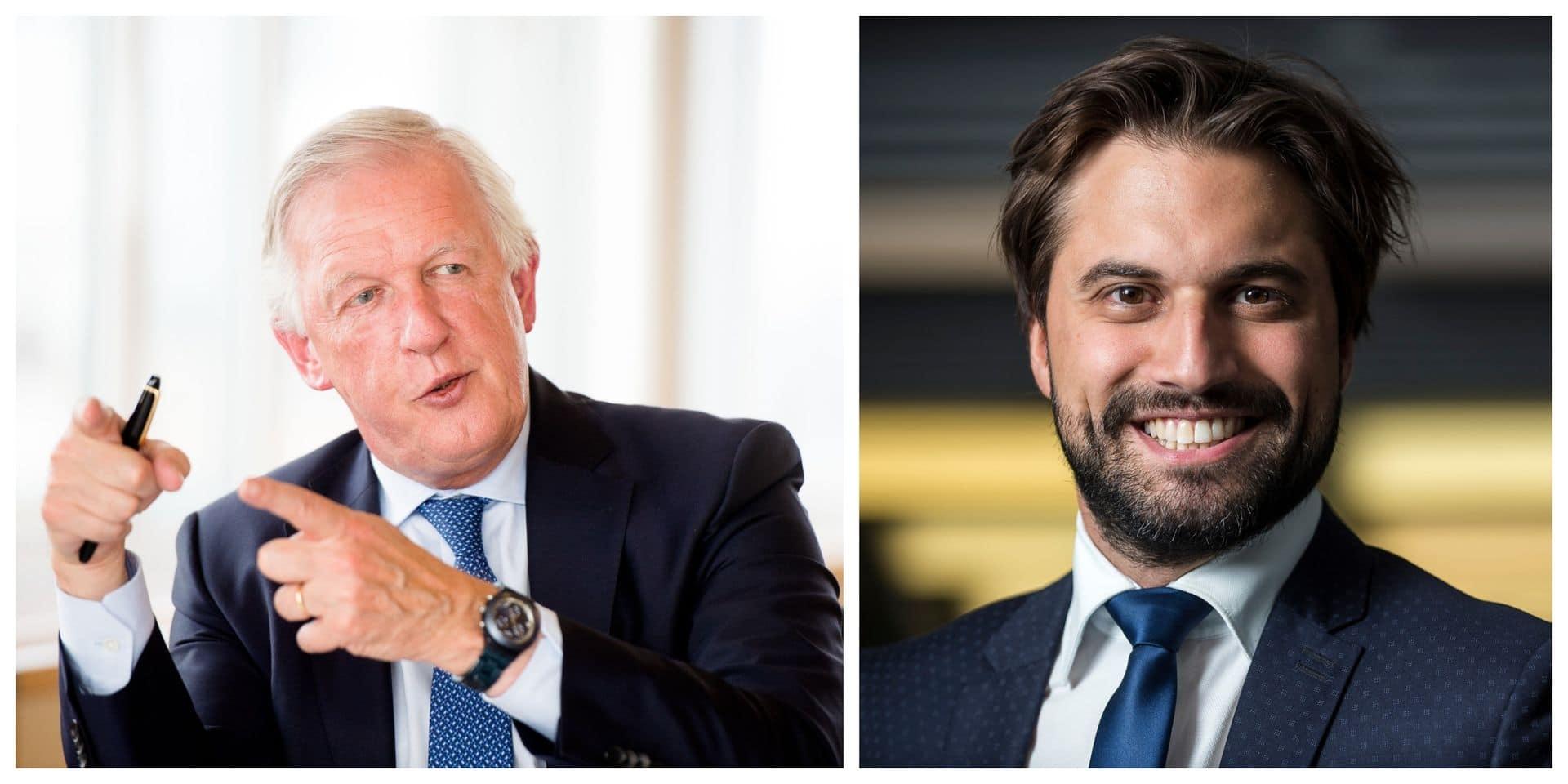 """Daniel Bacquelaine sur la présidence du MR: """"Georges-Louis Bouchez est l'homme de la situation"""""""