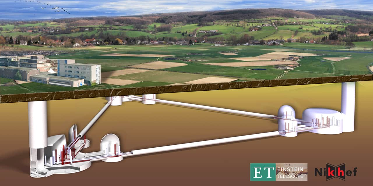 La Wallonie va investir 2 millions d'euros dans le télescope Einstein pour mieux comprendre le Big Bang
