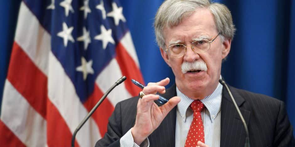 Les Etats-Unis menacent de sanctions les juges de la Cour pénale internationale s'ils poursuivent des Améri...