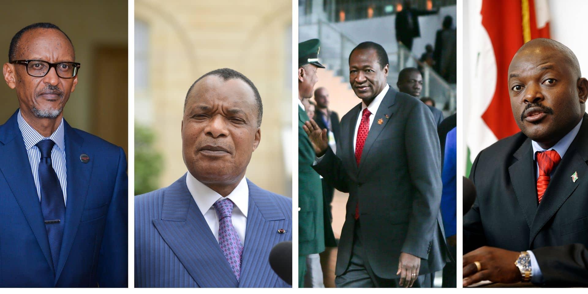 L'Afrique et ses mandats présidentiels illimités... ou presque