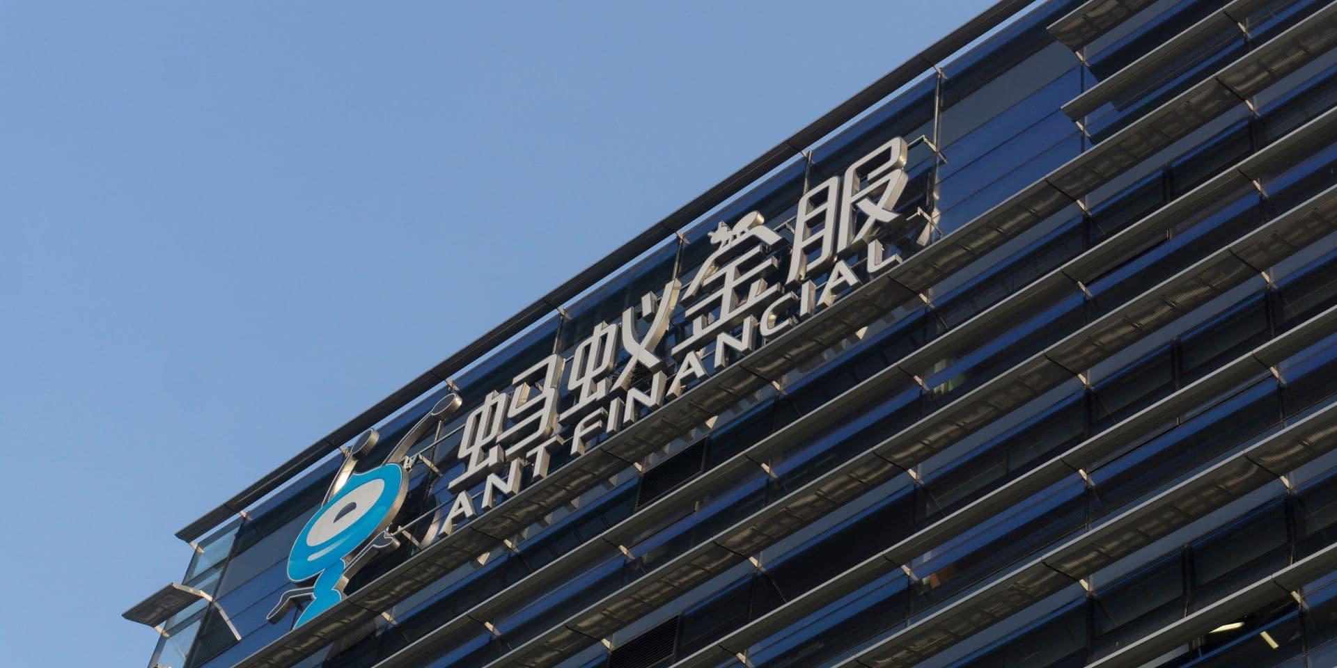 Paiement en ligne: le géant chinois Ant vise une grosse entrée en Bourse